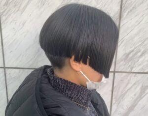 渡名喜風南 髪型