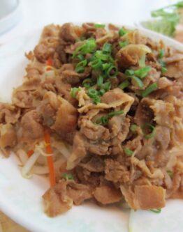 香港風豚焼き丼